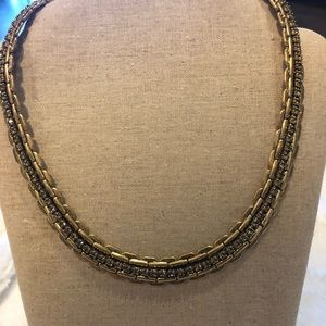 Stella & Dot Gold and sparkly necklace!